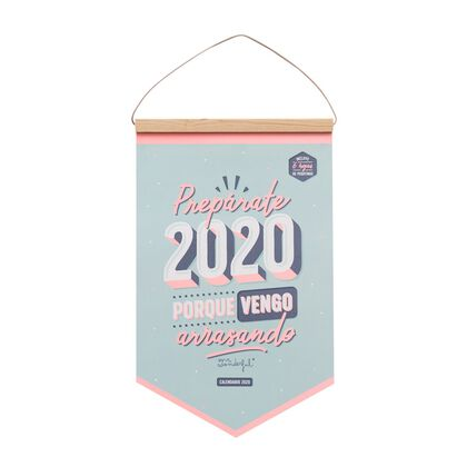 Calendario Mr.Wonderful Pared 2020 Prepáerate ... Castellano