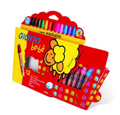 Lápices de colores Giotto Be-bè - 12 colores