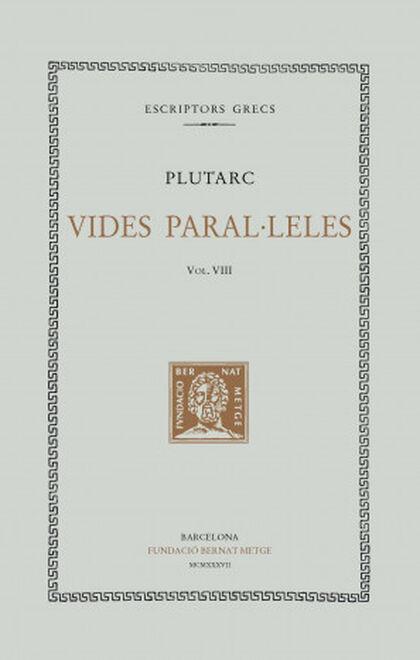 Vides paral·leles, vol. VIII: Filopemen
