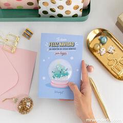 Postal Mr. Wonderful - Te deseo feliz navidad y un montón de cosas bonitas por llegar