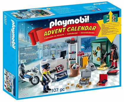 Playmobil Calendari d'advent Robo en la joyería (9007)