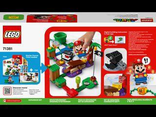 LEGO Super Mario Set de Expansión: Batalla en la jungla contra el Chomp Cadenas V29 (71381)