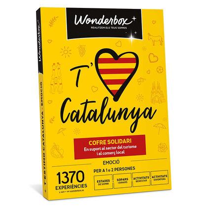 Wonderbox T'estimo Catalunya Emoció