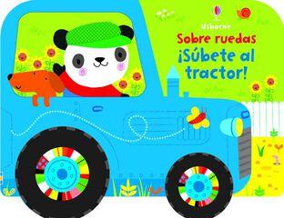 ¡Subete al tractor!