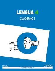 Castellano-cuaderno 2/15 PRIMÀRIA 4 Anaya Text 9788467877571