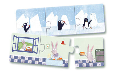 Puzzle Djeco Historias