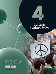 CULTURA VALORS ÈTICS ATÒMIUM 4t ESO Text 9788441223172