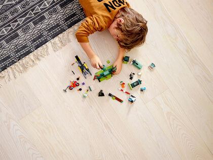 LEGO Superhéroes Batman y la huida de joker (76138)