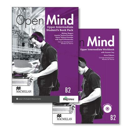 MCM Open Mind UPP/SB+WB+k Macmillan-Text 9780230487925