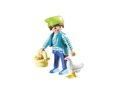 Figuras Playmobil Friends Granja con gallina