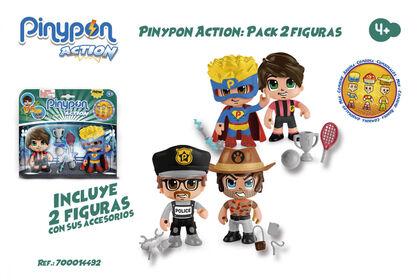 Figures Pinypon Action  2U