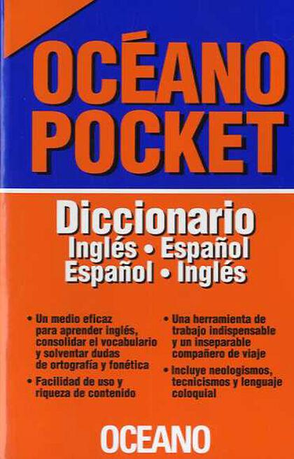 OCÉANO POCKET DICCIONARIO INGLÉS-ESPAÑOL Océano 9788449453403