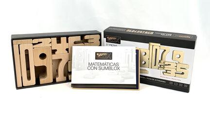 Sumblox Números De Madera 27Pcs.