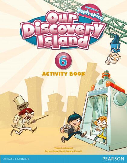 Discovery Island/AB pack PRIMÀRIA 6 Pearson 9788498378009
