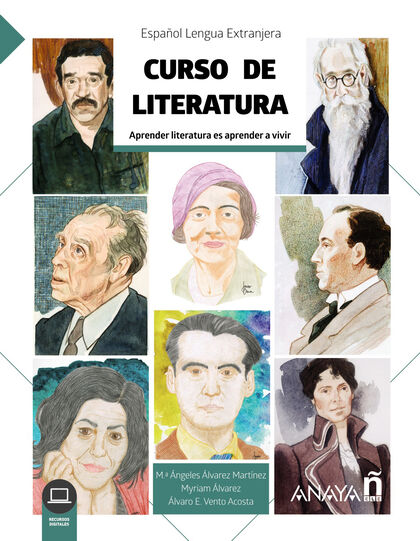 ANE ELE Curso de literatura Anaya ELE 9788469857007