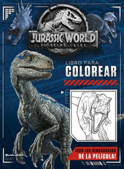 Jurassic World. El reino caído. Libro pa