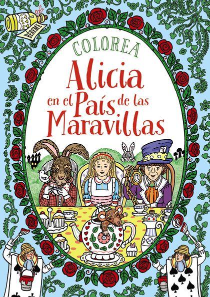 Colorea Alicia en el País de las Maravil