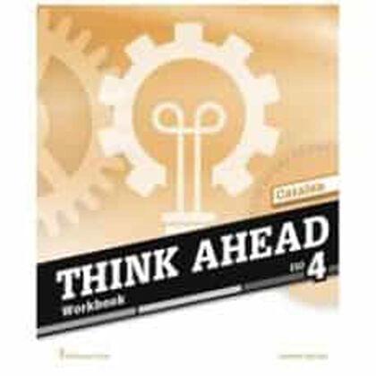 THINK AHEAD ESO 4 . WORKBOOK CATALAN Burlington 9789925300952