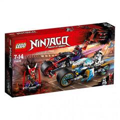 Juego Lego Ninjago Carrera jaguar - serpiente