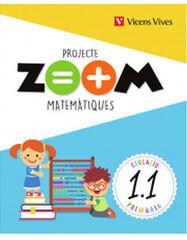 Matemàtiques(3)+Benvinguda/Zoom PRIMÀRIA 1 Vicens Vives 9788468255095