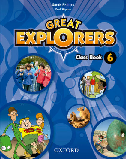 OUP E6 Great Explorers/CB/15 Oxford 9780194820509