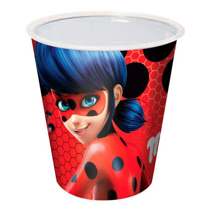 Vaso Lady Bug 25cl - 10 unidades