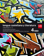 Lengua (3)/Savia/16 ESO 4 SM 9788467587074
