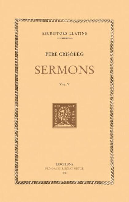 Sermons, vol. V: CXXV-CLI