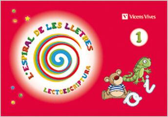 LECTOESCRIPTURA 1 ESPIRAL LLETRES INFANTIL 5 ANYS Vicens Vives- 9788468202693
