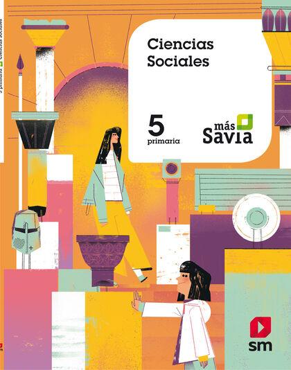 Sociales/+Savia PRIMÀRIA 5 SM 9788491077121