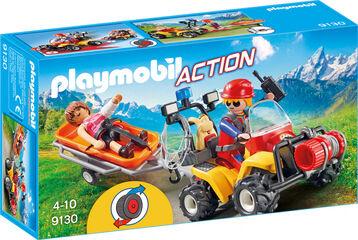 Playmobil Action Rescate ciclista y excursionista