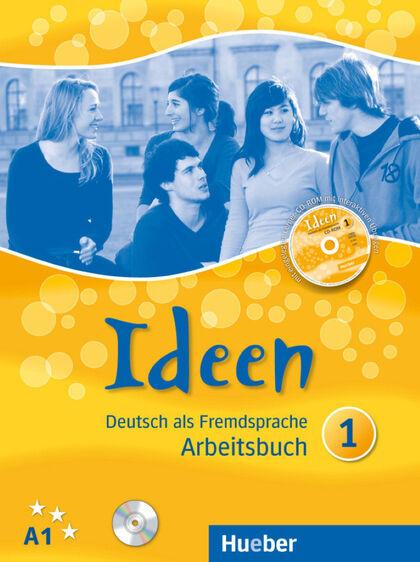 IDEEN 1 ARBEITSBUCH+CD+CDROM Hueber Internacional 9783191018238