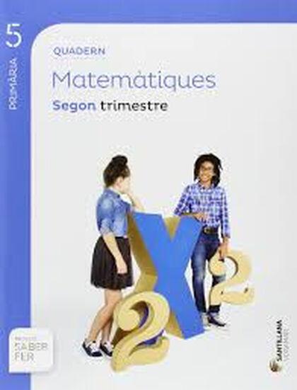 MATEMÀTIQUES QUADERN 2 SABER FER 5e PRIMÀRIA Voramar Text 9788490589823
