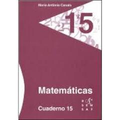 15DRS Cuaderno 15 Rosa Sensat 9788492748969