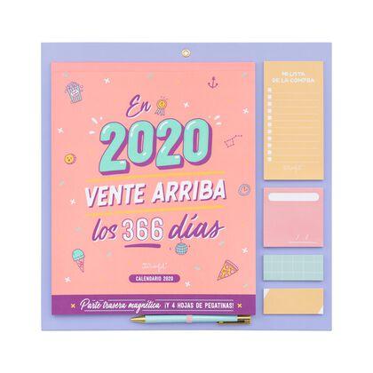 Calendario Mr.Wonderful Pared 2020 Vente llega Español