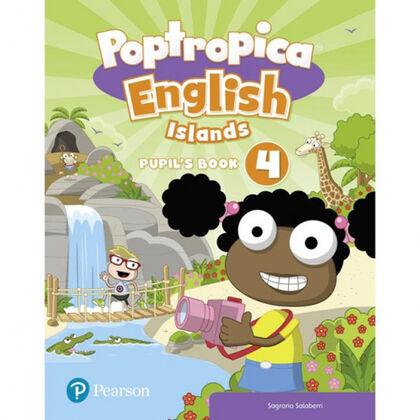 POPTROPICA ENGLISH ISLANDS LEVEL 4 PUPIL´S BOOK AND ONLINE WORLD ACCESS CODE 4t Primària Pearson 9781292312958