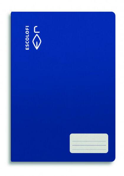 Libreta DIN A4 16 hojas 70 gr liso azul