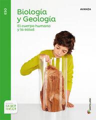 Biología y geología-Avanza B/16 ESO 3 Santillana Text 9788414103029