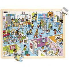Puzzle Nathan El hospital