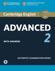 CUP Advanced 2/SB+K+CD Cambridge 9781316504499