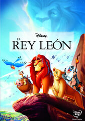 DVD Disney El Rey Leon 2014