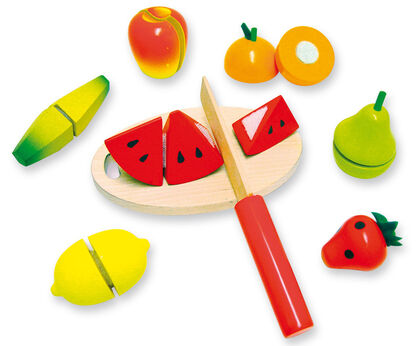 Juego simbólico Frutas para cortar Andreu Toys