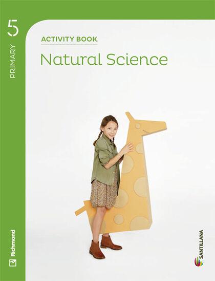 NATURAL SCIENCE ACTIVITY BOOK 5º PRIMARIA Santillana Text 9788468020785