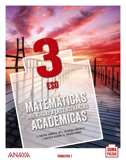 Matemáticas Acad 3º Eso Anaya Text 9788469861417 Abacus Online