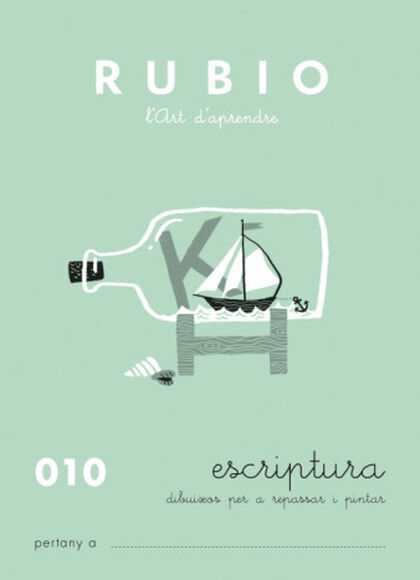 ESCRIPTURA 10 INFANTIL Rubio 9788489773509
