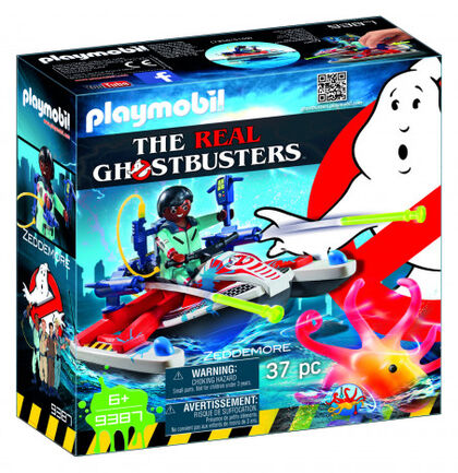 Playmobil Ghostbusters Zeddemore amb moto d'aigua