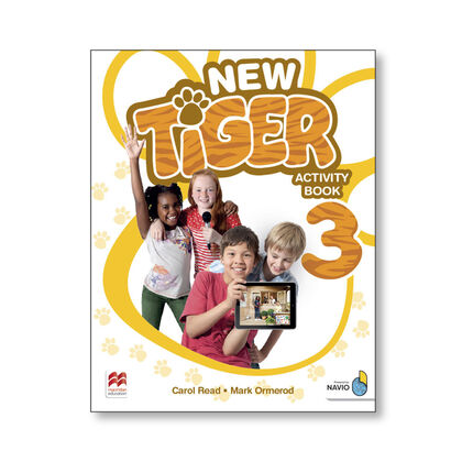 NEW TIGER 3. ACTIVITY BOOK Macmillan-Text 9781380011251
