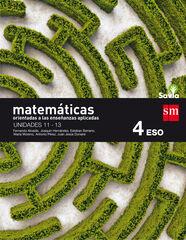 Matemáticas A APLI (3)/Savia/16 ESO 4 SM 9788467587098