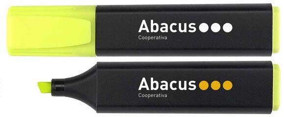 Marcador fluorecent Abacus Groc