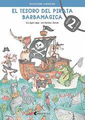 SALV E Tesoro pirata Barbamágica 2/AV 9788418427275